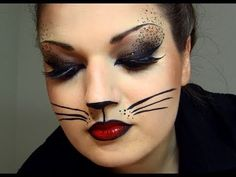 ▶ Sexy Cat Halloween Makeup - YouTube