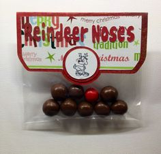 Reindeer Poop bags Getting ready for christmas :)