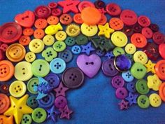 *A Rainbow of Buttons