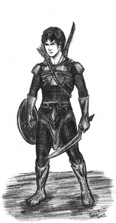 Eragon after the Agaeti Blödhren<---- very close to how I pictured him...