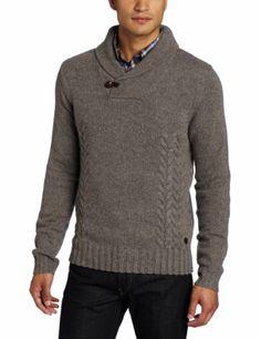 Ben Sherman Men's Plectrum Cable Knit Wool Sweater « Clothing Impulse