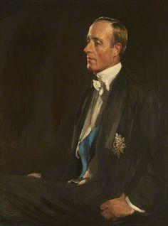 Portrait of Sir Charles Stewart Henry Vane-Tempest-Stewart (1878–1949), 7th Marquess of Londonderry, KG, MP, 1924 by Sir John Lavery (Irish 1856-1941)