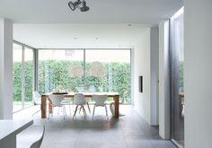 Jaren 30 villa / Remy Meijers dining rooms, dine room, floor, window, villa, chairs, ceilings, remi meijer, homes