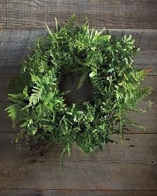 Fern Wreath How-To