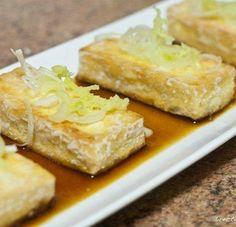 Receta de tofu crujiente