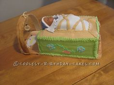 Coolest Cradle Board Baby Shower Cake... This website is the Pinterest of birthday cake ideas