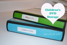 The O.C.D. Life: Children's DVD Storage: Take 2