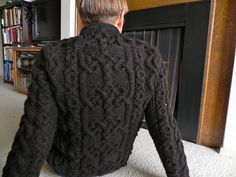 Ravelry: An Aran for Frederick pattern by Kathleen Dames
