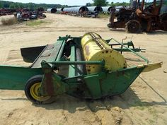 John Deere 480 hay equipment salvaged for used parts. Call 877-530-4430. We buy salvage farm equipment. 7 salvage yards in the Midwest. http://www.TractorPartsASAP.com
