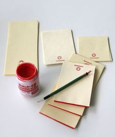 diy padding glue - make your own notepads!