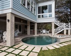 Pool Design Ideas. Great backyard with pool.