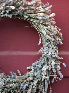 Catch a whiff of this dried lavender wreath whenever you get home, and it will be hard not to instantly feel more calm and relaxed.