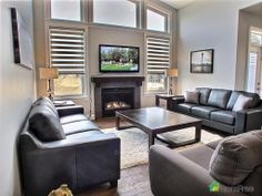 Check out this modern Living Room in White City #ComFree   #modernlivingroom #realestate #saskatchewan