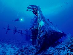 Wreck near Papua-New Guinea
