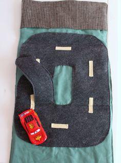 car caddy & road