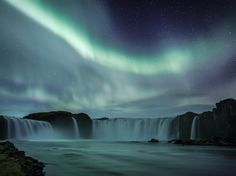 Waterfall, Iceland Photograph by Hordur Finnbogason