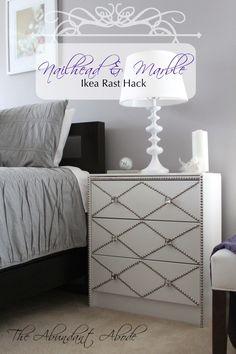 Nailhead & Marble Ikea Rast Hack
