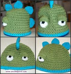 Dinosaurs may be extinct, but that doesn't mean they're gone completely. Create your very own dino with this free crochet pattern. Everyone's Favorite Dinosaur Hat is a cute hat that's a lot of fun to work up.