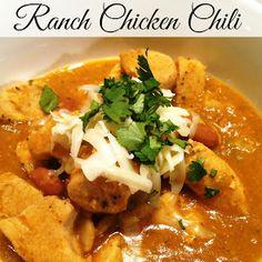Ranch Chicken Chili