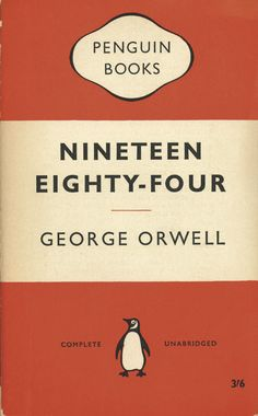 Postcards From Penguin:   100 Book Jackets in One Box - Nineteen Eighty-Four, 1960