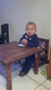 Weaning Table and Chair from The Full Montessori
