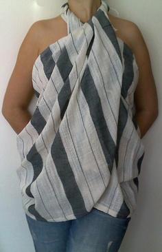 Bath and Beach Towel Turkish Peshtemal Sarong by TheAnatolian, $29.00