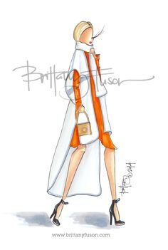 Brittany Fuson // blanket-like capes // www.brittanyfuson.com