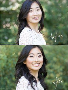 How To Contour and Highlight. A quick and easy tutorial! #wchappyhour Makeup: Karen Kim Beauty Photography: Jennifer Xu http://www.weddingchicks.com/how-to-contour-and-highlight/