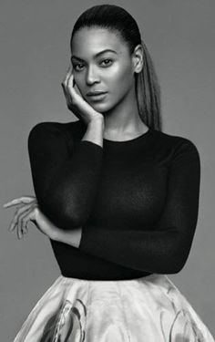 here's Beyoncé for the cover of The Gentlewoman,