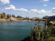 easy utah hike - cecret lake trail (albion basin)