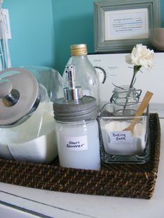 homemade products, diy stain, homemad stain, homemad oxyclean, stain removers, pit stain, cleaning supplies, laundri room, laundry stains
