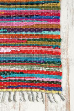 rag rugs, urban outfitters, color, rainbows, kid rooms, laundry rooms, rainbow rag, hous, kitchen