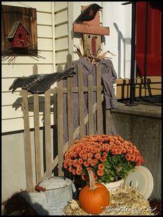 Prim Fall Display...autumn