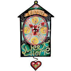 Home Sweet Home Clock Michelle Allen Designs    $72.00