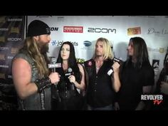 Evanescence - Golden Gods Awards Interview