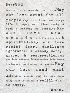 A prayer for this first day of Lent...