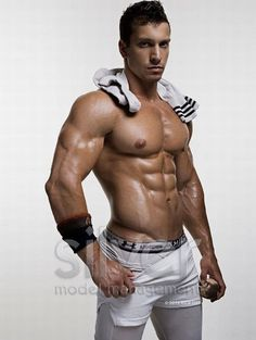 Brian Freeman © RICK DAY rickday.blogspot.com # pecs six pack abs hot guy male fitness model speedo briefs shirtless