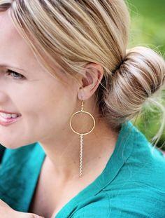 Trendy Jewelry   Twisted Silver   Celebrity Jewelry   Funky Jewelry - Soleil earrings