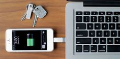 Bluelounge | Kii - Compact charger-connector that fits on a keychain. For iPhone, iPod and iPad.