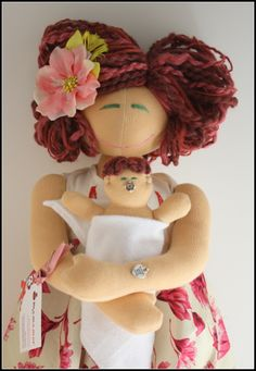 Birthing and Breastfeeding MamAmor doll - ANNA - $195