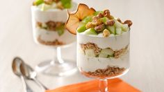 Apple Pie Mini Trifle. A dessert when you need a quick sweet fix without destroying your diet.