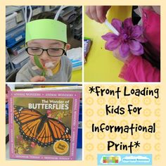 Front Loading Kids for Informational Print   #education  #kinderchat