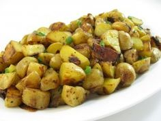 Country Fried Potatoes Made Skinny- 154 calories, 4 grams of fat and 4 Weight Watchers ...