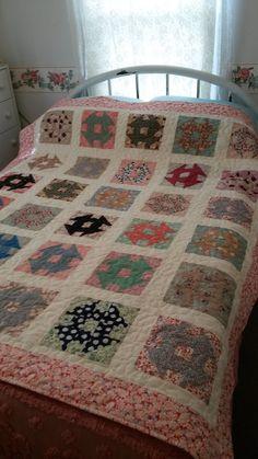love this churn dash quilt