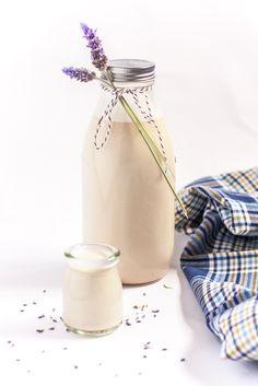 almond milk, lavend almond