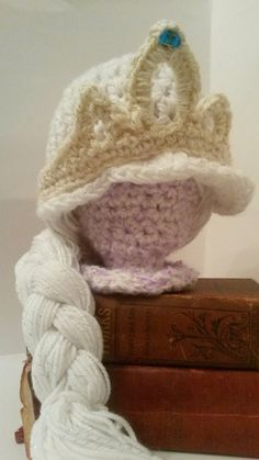 hat costum, crochet hats, frozen dress up, winter hats