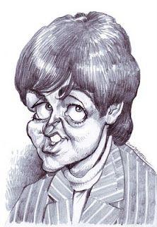 Artist:Jan Op De Beeck   Caricature:Paul McCartney