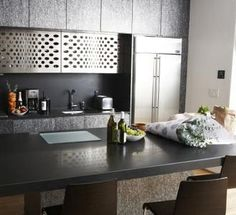 painted formica - slate grey