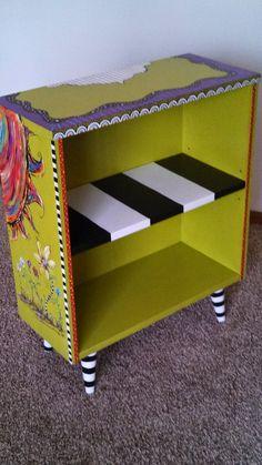 Carolyn's Funky Furniture - fun bookcase