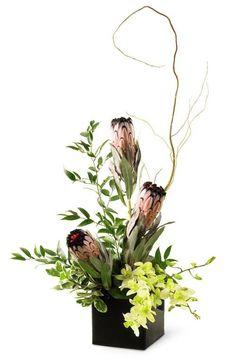Exotic Flower Arrangements | Winnipeg Flower Design. An exotic flower arrangement filled with ...